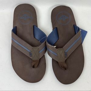 Dockers Men's Brown Flip Flops